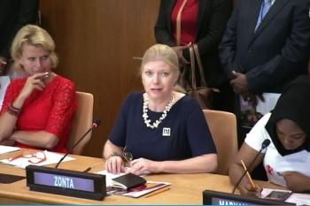 UN   Susanne von Bassewitz, Präsidentin ZI 2018-2020